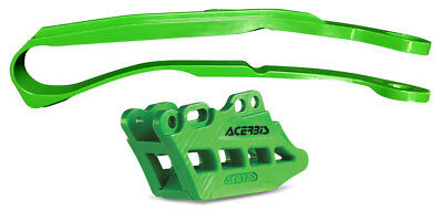 Acerbis 2466040006 2.0 Chain Guide And Slide Kits Green
