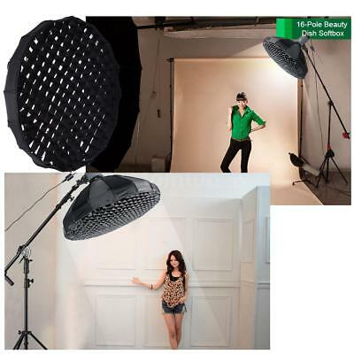 Photography Studio Beauty Dish Softbox Diffuser Honeycomb Grid Bowens Mount H5V0