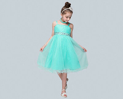 Trendy Solid Color Girls Princess Dress for Party