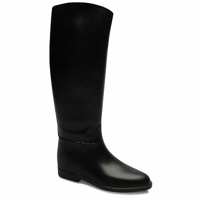 Harry Hall Mens Riding Boots Slight Heel Slip On Water Resistant Durable Shoes