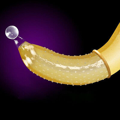 Adult Latex G spot Condom with Big Particle G-point Condom