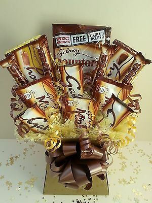 GALAXY Chocolate Bouquet Perfect Gift Hamper Box Sweet Tree Explosion FREE P&P