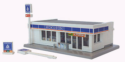 Rokuhan S049-2 Z Scale Convenience Store (White) (1/220 Z Scale)