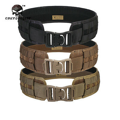 EMERSON Military Army MOLLE Load Bearing Utility Belt Combat Army Waist Belt