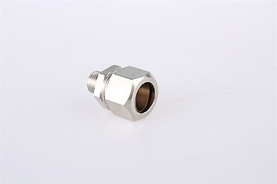 3/8 Male Threaded 16mm Tube Straight Pneumatic Connector Hose Quick Coupler 5pcs
