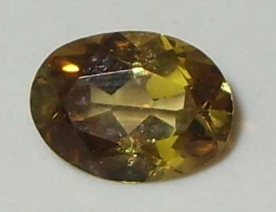 1.41ct Valuable Natural Tanzanian Gold To Gold Green C/S Chrysoberyl Oval 8x6mm