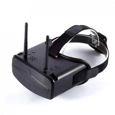 6f9e1cf16cb2 5.8G 40CH 4.3inch HD Goggles Video Glasses With 7.4V 2200mAh Battery for FPV