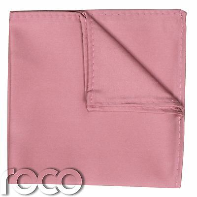 Boys Dusky Pink Pocket Square, Boys Handkerchief, Pocket Handkerchief