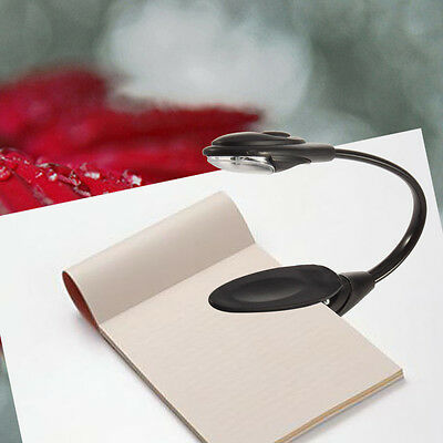 New Flexible Clip On Bright LED Reading Light Table Lamp Desk Lamp Book Light