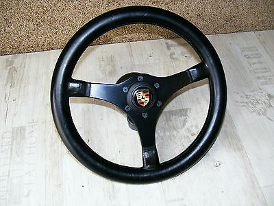 original Momo Elite Sportlenkrad Leder volante steering wheel Porsche 911 912 RS