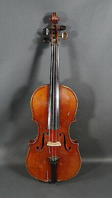 Antique Cerveny&Sons Bohemian Soprano ¾ Violin Concert Musical Instrument Fiddle