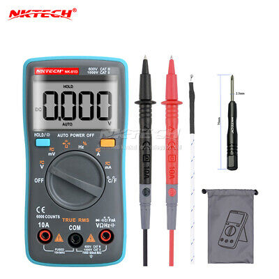 NKTECH NK-51D True RMS Digital Multimeter Temperature Resistance Cap Frequency