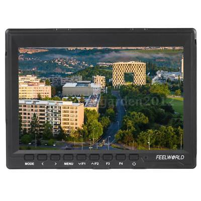 "FEELWORLD 7""inch 4K HD Slim Video Field Monitor AV For Canon Nikon DSLR Camera"