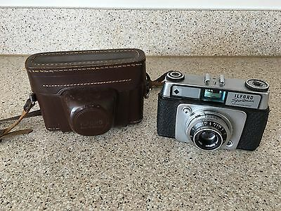 Ilford Sportsman 35mm Camera And Case (2)