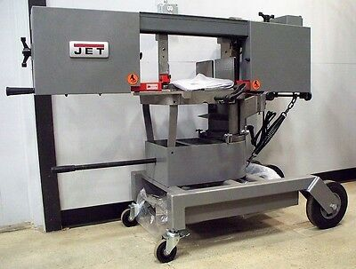 #9842: NEW Jet Portable Dual Mitering Bandsaw