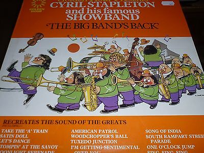 Cyril Stapleton & His Famous Showband The Big Band's Back Vinyl LP GH531 7/24