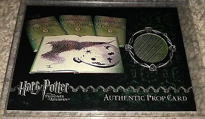 Harry Potter Artbox Prisoner of Azkaban Unfogging the Future Variant Prop Card