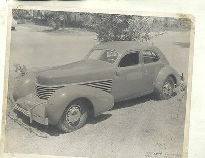 1936 Cord 810 Westchester Sedan ORIGINAL Photo Bob Shindel Adrian Grieve ww8762