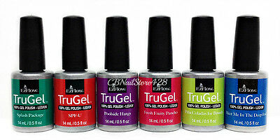 EZFlow TruGel Gel Polish LED UV - IN THE CABANA Summer 2017 - 0.5oz Pick Color