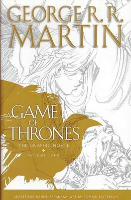 A Game of Thrones The Graphic Novel vol 4 Hardcover George R.R. Martin Comic