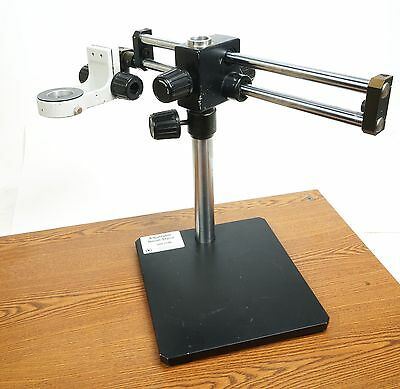 """Hakko 999-224B Adjustable Boom Stand 10x10"""" Base for FR-801/2/3 & FR1012 Systems"""