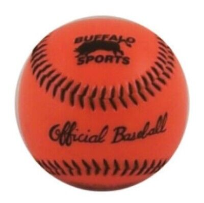 Buffalo Sports Softcore Ball Baseball - 9 Inch - Synthetic Cover (Base032)