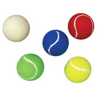Buffalo Sports Coloured Tennis Balls - 1 Dozen - Multiple Colours (Tenn032)