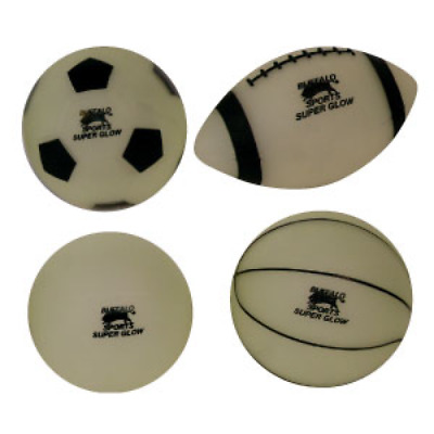 Buffalo Sports Glow In The Dark Balls - 210Mm - Multiple Types Of Ball (Play044)