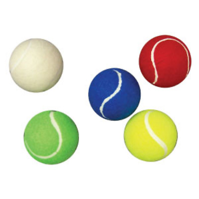 Buffalo Sports Coloured Balls In A Bucket - 3 Dozen - Multiple Colours (Tenn031)