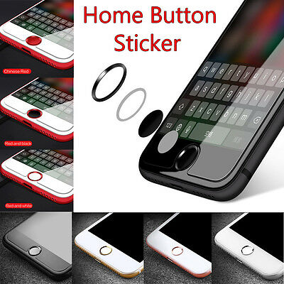 Touch ID Aluminum Home Button Sticker Fingerprint Support for iPhone for iPad