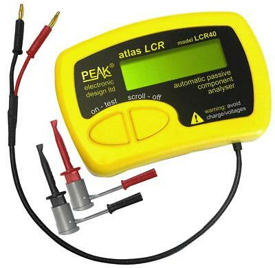 Atlas Passive Component LCR Analyser