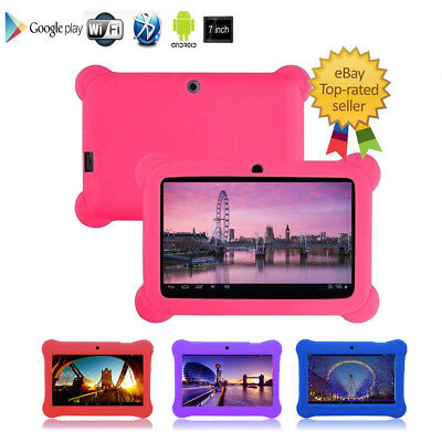 """7"""" Inch Kids Child Children Android 4.4 Tablet Pc Quad Core Wifi Camera Uk Stock"""