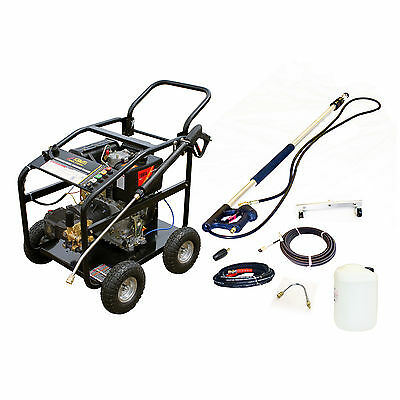KM3600DXR Diesel Jet Washer Pressure Cleaner Pack Patio Drain Roof Cleaning