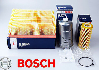 Bosch Audi A4 1.9 Tdi & 2.0 Tdi 01-08 Diesel Service Kit Air Oil And Fuel Filter