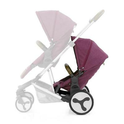 BabyStyle Hybrid Tandem Seat Unit (Wild Orchid)