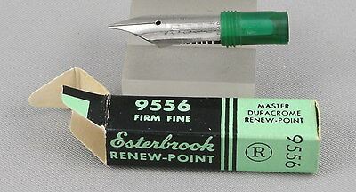 Esterbrook Renew-Point 9556 Firm Fine Nib In Box - New-Old-Stock