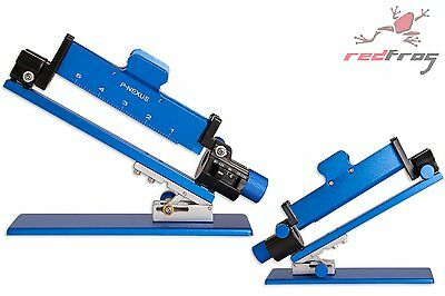 New Next Generation Decut Archery P-Nexus Arrow Fletching Jig 3 / 4 Vane BLUE
