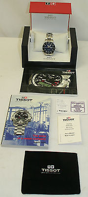 Tissot PRS 516 Automatic Wristwatch 50M/165Ft Kinetic Watch with Date and Day