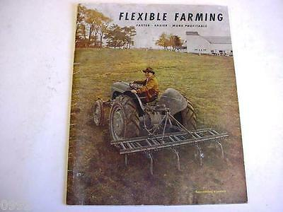 Ford Harry Ferguson Tractor & Implement Buyers Guide Style Brochure