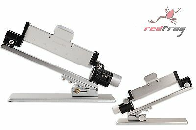 New Decut Archery P-Nexus Arrow Fletching Jig 3 /4 Vane Offset Capable SILVER