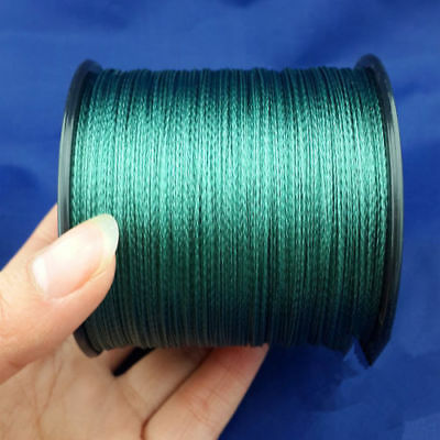 Fishing Line 100% PE Green 4 Strand Spectra Dyneema Braid 100M 300M 500M 1000M