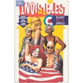 Invisibles TP #4 Bloody Hell In America - Brand New!