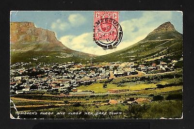 15769-SOUTH AFRICA-RIVER-OLD POSTCARD MALMEDBURG to KUOPIO (finland) 19011.