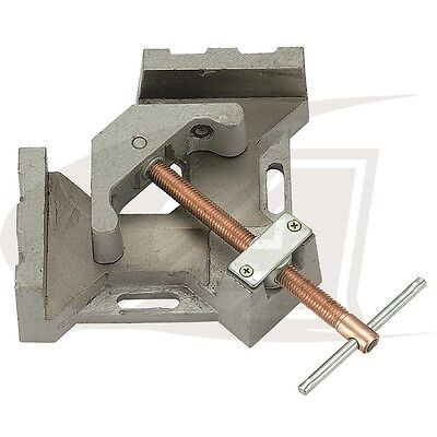 """2-Axis Welders Angle Clamp with 5.32"""" Jaw (length) - Quick Acting Screw"""