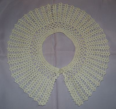 Handmade Crocheted Collar
