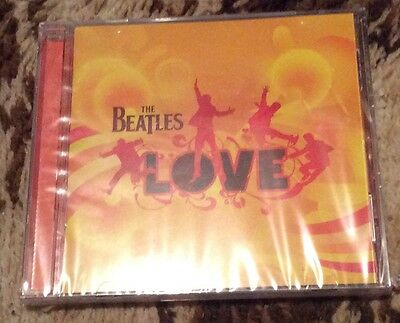 Love by The Beatles CD EMI 2006 Brand New Sealed