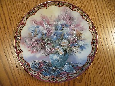 """W.S. George """"Delicate Dancers"""" Collector Plate by Lena Liu"""