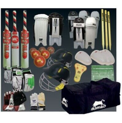 Buffalo Sports Secondary School Cricket Kit (Crick053)
