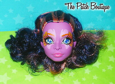 Monster High Great Scarrier Reef Kala Mer'ri Sea Creature Head Replacement Ooak