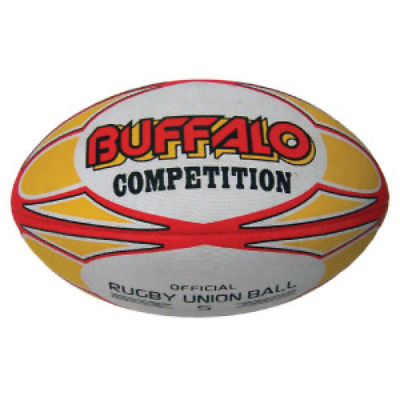 Buffalo Sports Competition Rugby Union Ball - Size 5 (Rug076)